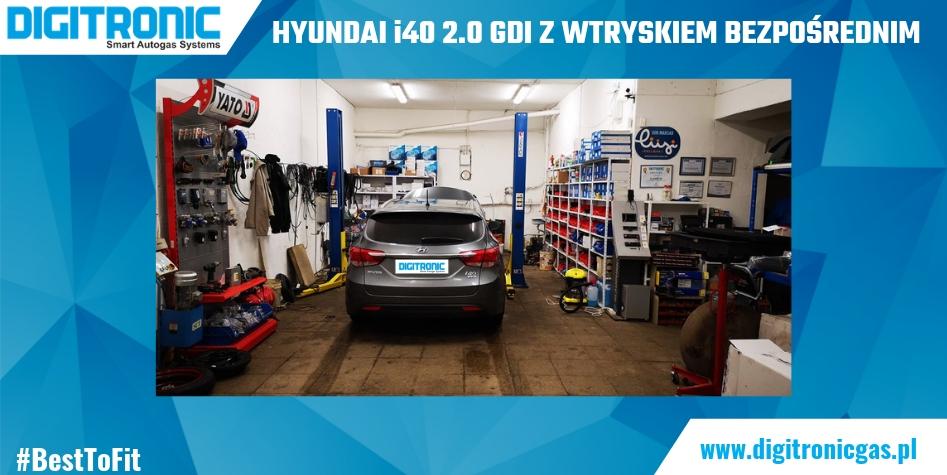 Hyundai i40 2.0 GDI z wtryskiem bezpośrednim